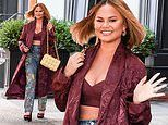 Chrissy Teigen looks fabulous and fresh as she debuts her chic new haircut in NYC