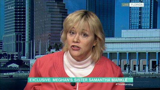 Samantha Markle blames Meghan for decision to quit royal life with Prince Harry