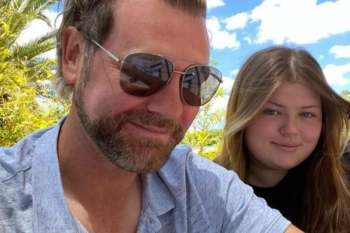 Brian McFadden soaks up sun on Portugal holiday with eldest child Molly