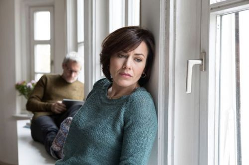 Dear Coleen: 'We live under the same roof but he has given up'