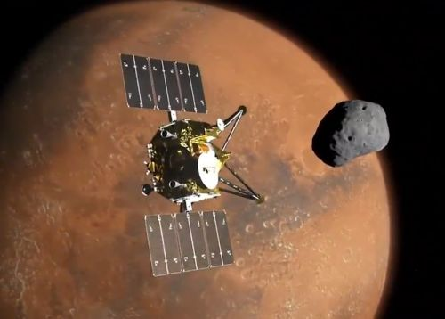 "Japan's MMX Mars probe will carry 8K ""Super Hi-Vision Camera"""