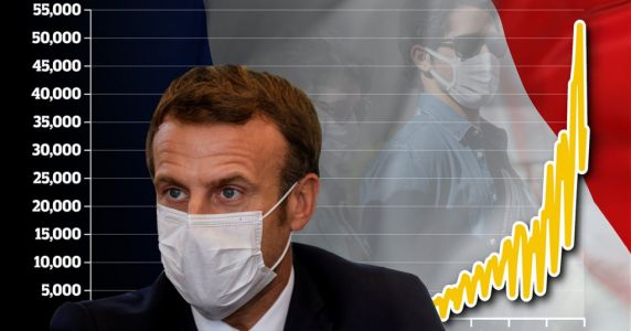 French president Macron could announce another nationwide lockdown today