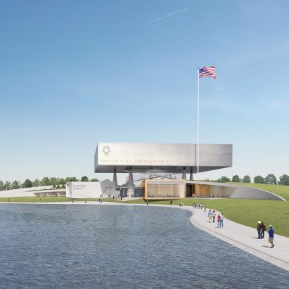 Rafael Viñoly Architects reveals design of National Medal of Honor Museum in Arlington