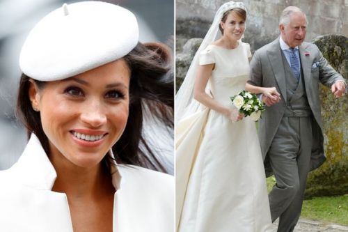 Giving Meghan Markle away isn't first time Prince Charles has walked bride down the aisle - after standing in for sick friend