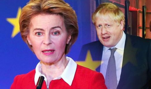 EU CRACKS under pressure: Von der Leyen sends Barnier top official to secure Brexit deal