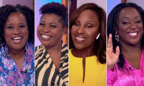 Loose Women makes history with all-black panel - and the fashion was fabulous, too
