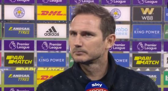 'Worried' Frank Lampard blasts Chelsea stars for 'not sprinting' after Leicester City defeat