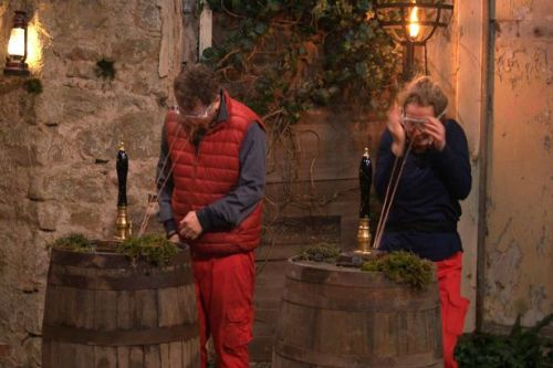 I'm A Celeb stars left struggling with hangovers after night in the castle pub