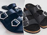 Shoppers go wild for $12 Kmart double buckle slides that are identical to $265 Arizona Birkenstocks
