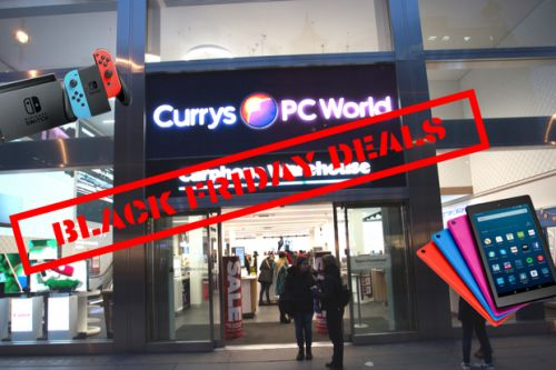 Currys PC World Black Friday deals 2019 - Why Wait Sale to Black Tag event