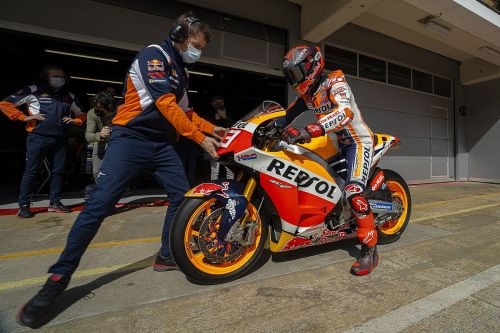 """Honda """"not in the best situation"""" with MotoGP bike - Marquez"""