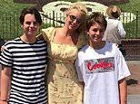 Britney Spears quarantined for two weeks in order to see her two sons