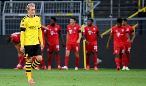 Borussia Dortmund suffer familiar fate as Bayern Munich close in on Bundesliga title No 8