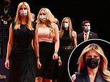 Trump family finally wear masks for final presidential debate