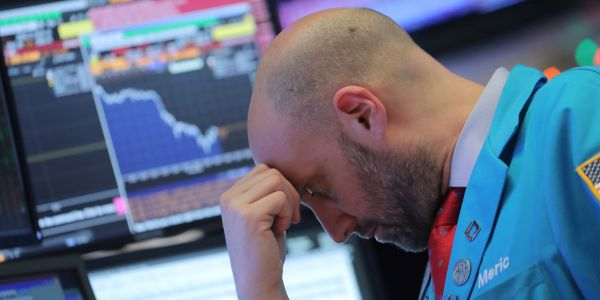 US stocks plummet into correction territory on coronavirus fears - and the S&P 500 is headed for its worst week since the 2008 financial crisis