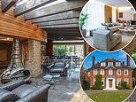 Hampstead home featuring Nelson Mandela retreat-inspired summer house goes on sale for £15m