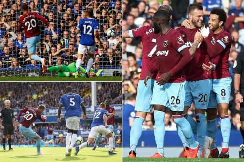 Everton 1-3 West Ham REPORT: Andriy Yamolenko and Marko Arnautovic inspire Hammers to first points of season