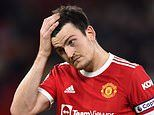 Harry Maguire apologises to Manchester United's supporters for humiliating defeat by Liverpool