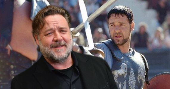 Russell Crowe is 'hopeful' for Gladiator sequel - despite being killed off in first film