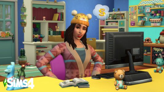 The Sims 4's next stuff pack is all about knitting