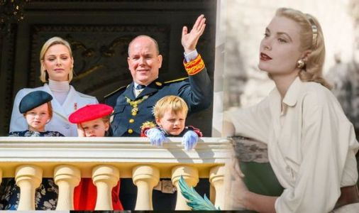 Royal tribute: How Monaco paid tribute to Grace Kelly - leaving only son in TEARS