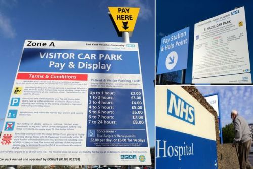 Soaring hospital car park fees blasted as taxes on the sick as trusts net £254m