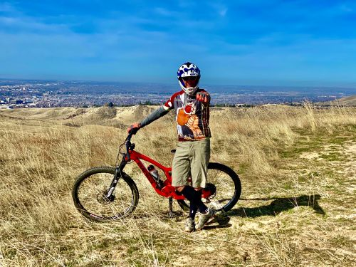 A triathlete who believes he contracted COVID-19 in early March warns others that a strenuous bike ride he went on after he started feeling better almost landed him in the hospital