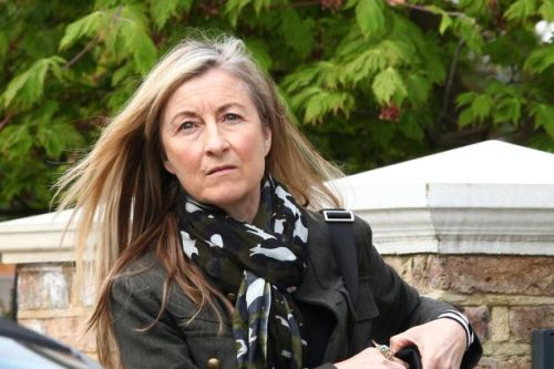 Fiona Phillips out for first time since coronavirus diagnosis two weeks ago