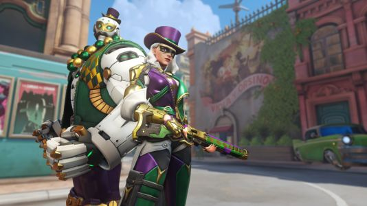 How long does the Overwatch Mardi Gras Challenge last?