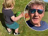 Gordon Ramsay shares cute video of beloved son Oscar playing football