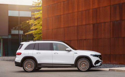 Mercedes-Benz EQB is a pure-electric seven-seater SUV