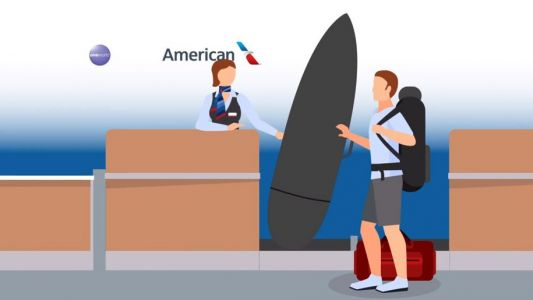 American Airlines cuts baggage fees for sports and music equipment