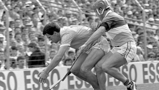 How former Antrim captain Ciaran Barr navigated Belfast's Troubled waters