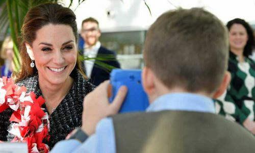 Little boy takes extraordinary must-see photo of Kate Middleton