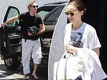 Rooney Mara and Joaquin Phoenix sport martial arts pants seen for first time since engagement news
