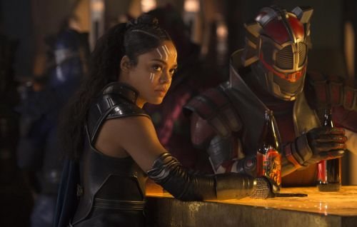 """'Thor' star Tessa Thompson says MCU Phase Four will """"push the bounds"""" of representation"""