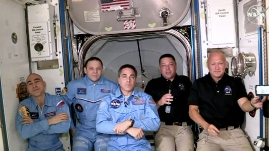 Space X return from ISS - here's the time the Crew Dragon astronauts land