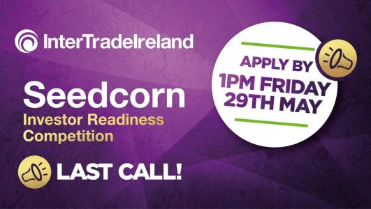 Last chance for NI start-ups and early-stage companies to enter €280,000 business competition