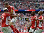 Charlton 2-1 Sunderland: Patrick Bauer scores last-minute winner as Charlton secure promotion