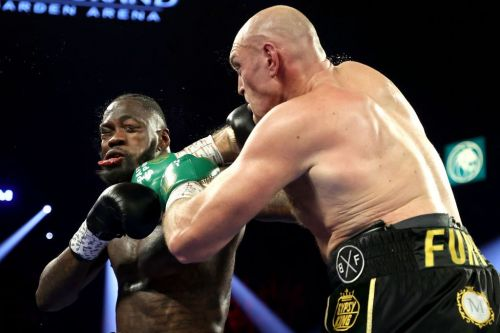 Deontay Wilder taken to hospital after defeat to Tyson Fury