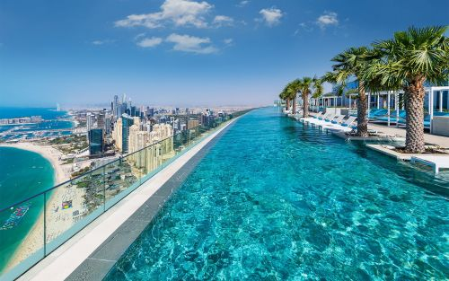 The most amazing hotel pools in Dubai, including sky-high infinity pools, waterparks and lagoons