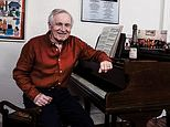 Jonathan Dimbleby, 76, in the drawing room of his home in Bristol