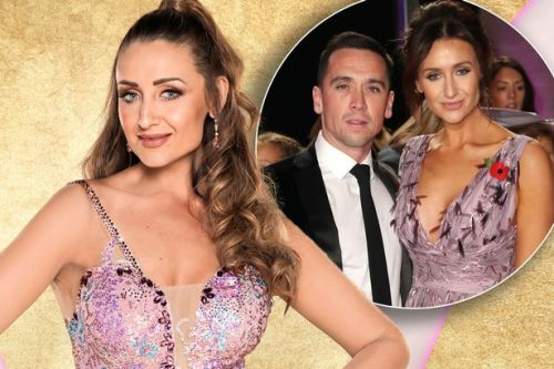 Strictly star Catherine Tyldesley's husband says he is prepared for infamous 'curse'