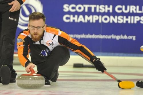 Perth curler Robin Brydone set to sweep back into action at Baden Masters