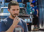 Shia LeBeouf heads to the car wash after confirming romance with FKA twigs