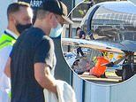 Matt Damon quietly jets into Sydney with his family on a private jet