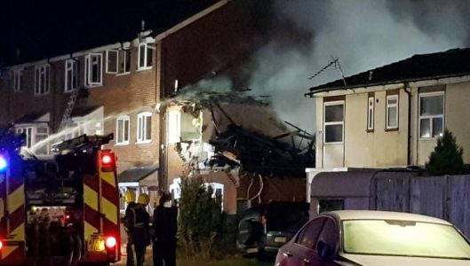 Harrow house destroyed in gas explosion sparking huge fire in north-west London