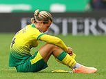 Todd Cantwell's devastation after Norwich's 1-0 defeat to Brighton sees survival hopes slip away