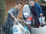 Mark Wright's parents drop off shopping at his home as he celebrates his 34th birthday in isolation