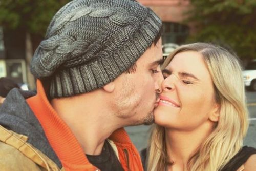 Neighbours stars Chris Milligan and Jenna Rosenow announce engagement with snap